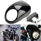Motorcycle Front Headlight Fairing Cowl Mask For Harley Davidson Dyna FX XL
