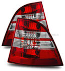 FOR 98-05 MERCESES BENZ W163 ML320/ML430/ML500/ML55 RED CLEAR TAIL LIGHT LAMPS