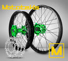 KAWASAKI MX WHEEL FOR KX125 KX250 KX250F KX450F ANY COLOR ON RIM/HUB W/ ROTORS