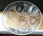 Pressed Glass Punch Bowl in Perfect Condition Measures 14 x 75