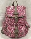 Candies Pink Abigail Floral Ditsy Table and Tower Backpack NEW WITH TAGS Canvas