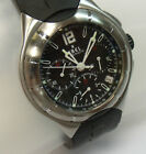 EBEL TYPE E CHRONOGRAPH AUTOMATIC STAINLESS STEEL WATCH 9137C51