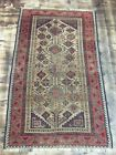 ca.1880 WONDERFUL OLD ANTIQUE PERSIAN BALUCH RUG 5.10x3.7 ft