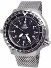 Tauchmeister Automatic, 200m Dive Watch with Mesh Bracelet and Sapphire Crystal