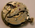 RARE VINTAGE JAEGER LECOULTRE K818/1CW WATCH 17 JEWELS MOVEMENT - RUNS WELL