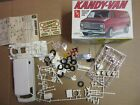 AMT 1:25 SCALE 1970s CHEVROLET CHEVY KANDY VAN MODEL KIT T246 Decals Instruction