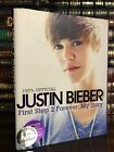 First Step 2 Forever My Story SIGNED by JUSTIN BIEBER Autobiography Hardback