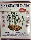 Sina Ginger Candy Ting Ting Jahe Chewy Foil Wrapped Sealed Indonesia (pack of 3)