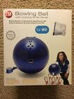 CTA Bowling Ball with locking wrist strap for play with Wii