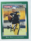 2006 Topps Total Ben Roethlisberger STEELERS Signed Autograph Auto Card
