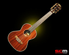 KALA KA 6E 6 String Tenor Ukulele with Pickup Gloss Mahogany Finish FREE P+H