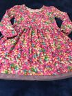 Childrens Place Easter Dress Girls size 5 5T Pink Jelly Bean Long Sleeve