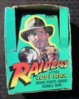 1981 RAIDERS OF THE LOST ARK Trading Card BOX ONLY G VG 3.0