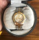 TAG Heuer Women's Two-Tone Gold Plate and Stainless Steel WAtch, New Battery