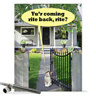 J9698 Jumbo Funny Miss You Card Back Rite With Matching Envelope greeting cards