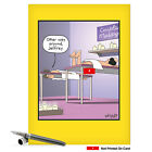 J8405 Jumbo Funny Birthday Card Other Way Around hilarious greeting cards