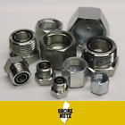 100 PC LOT ORFS CAP AND PLUG HYDRAULIC ORING FITTINGS BUNDLE SIZES 4 16
