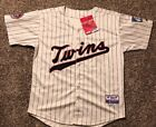 Minnesota Twins Authentic Stiched 50th Anniversary Pin Stripe Jersey #2 Nwt 48