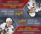2012-13 Upper Deck Series 1 NHL Hockey 24 Pack Box 192 cards 12-13