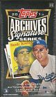 2015 Topps Archives Signature Series Baseball Factory Sealed Hobby Box