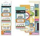Momenta 39 pc stickers Words happy day Free shipping