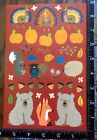 THANKS GIVING AND FALL STICKERS SHEET BEAUTIFUL STICKERS BY CREATOLOGY TURKEY5