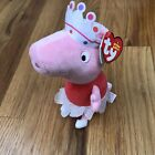 NWT Ballerina Peppa Pig Plush 2015 - Tutu & Crown Pink 8