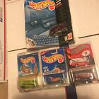 VW DRAG BUS Hot Wheels lot of 4 1st ed 2005 RLC Van de Kamps Collectors CD