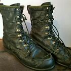 SEARS TED WILLIAMS Hunting Boots The Green Boot size 8.5 Du-Flex Cush-N-Crepe