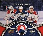 2015-16 Upper Deck AHL hockey cards Hobby Box with 20 Packs