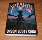 ORSON SCOTT CARD SPEAKER FOR THE DEAD 1st Revised Edition SIGNED