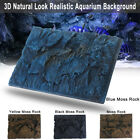 24x18 3D Rock Stone Reptile Aquarium Fish Tank Background Board Plate Decor