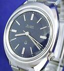 Bulova Accutron 218 vintage  ss watch with rare blue dial and new matched band