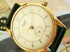 VERY BEAUTIFUL VINTAGE PIAGET WATCH IN 18k GOLD PLATED CASE FROM 1955 BIG SIZE