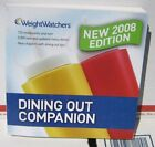 Weight Watchers Dining out Companion book 2008 points plan