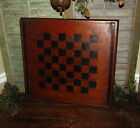 INLAID WOOD CHECKERS GAME BOARD Gameboard