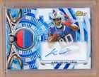 KARLOS WILLIAMS 2015 TOPPS FINEST AUTOGRAPH AUTO PATCH RELIC /60 BILLS