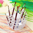 49 Holes Paint Brush Pen Holder Stand Storage Rack Organizer Display Round