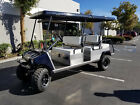 Club Car 6 Passenger Seat Gas Lifted Golf Cart Car Limo Limousine Fast