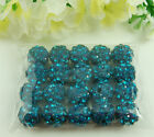 10mm Disco Ball Zircon Clay Beads For Shamballa Charm Bracelet Beaded Wholesale