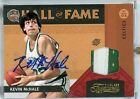 Kevin McHale Autograph Jersey Patch 2009-10 Timeless Treasures Hall of Fame 2 10