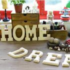 15cm Wooden Letters A to Z Alphabet 0 9 Wedding Party Birthday Home shop Decor