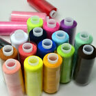 24 Lot Mixed Colors Polyester Spool Sewing Thread Quilting For Hand Machine