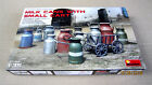 Milk Cans with Small Cart (PE parts)  1/35 MiniArt # 35580