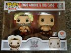 Funko Pop! WWE Enzo Amore & Big Cass 2-pack Exclusive Brand New 889698150729