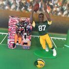 ROBERT BROOKS 1996 SLU Starting Lineup Loose open GREEN BAY PACKERS + card