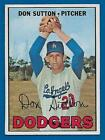 Don Sutton Baseball Cards and Autographed Memorabilia Guide 15