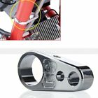 25mm Handlebar Universal Motorbike Brake Cable Wire Clamp Clip Holder Fix Metal