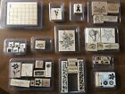 LOT OF 12 STAMPINUP STAMP SETS Lightly used themes friendship thanks birth