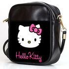 HELL0 KITTY 2 Sling Bag Crossbody Women Shoulder Casual Bags Leather